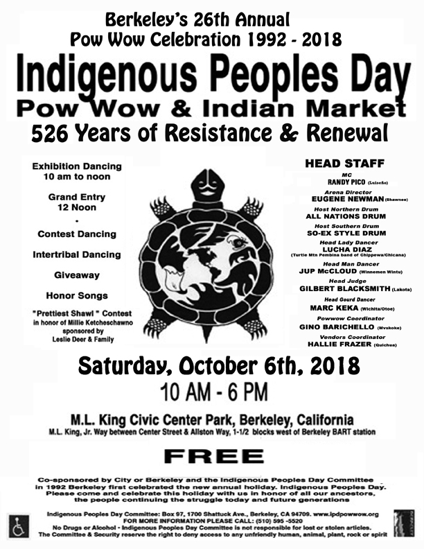 2018 Pow         Wow Flyer